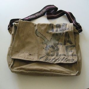 American Eagle Canvas Messenger Crossbody bag